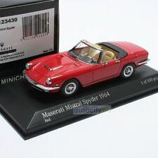 MINICHAMPS MASERATI MISTRAL SPYDER RED 437123430