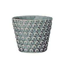 Bloomingville Votiva Puntos Azul Velas de Té Soportes de vela de porcelana