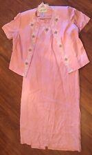Jessica Howard women's petite two piece set size 16 (Dress Suit- Pink)