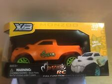 Radio control RC Truck MonZoo Battery Powered New Boys 5+ 49 MHZ Orange Color