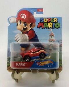 Mario Hot Wheels Super Mario Character Die Cast Car - 2016 - BRAND NEW