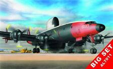 Plus Model 1/72 Lockheed Wv2 EC - Warning Star (full Heller Kit Detail Sets)