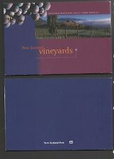 New Zealand 1997 Vineyards Souvenir Miniature Sheet Booklet Stamps fine used