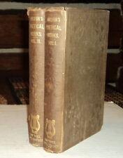 1854 JOHN MILTON POETICAL WORKS inscribed by EDWIN MARKHAM to LEONARD VAN NOPPEN