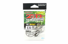 Decoy ZF-1S Zero Dan Flash Offset Worm Hook Size 1/0 , 7 grams (1545)