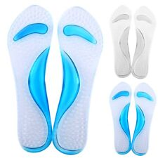Silicone Gel Shoe Insert Pad Sole Insole Men Women Foot Care Shoes Cushion