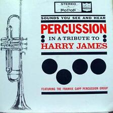 Frankie Capp - Percussion Tribute To Harry James LP Mint- KIMBERLY 11002 Vinyl