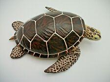 "Safari Ltd Sea Turtle Animal Figure Wildlife 2005 8 1/2"" Long Euc"