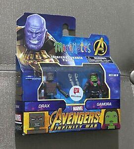 Walgreens Exclusive Avengers Infinity War Minimates Drax & Gamora Set