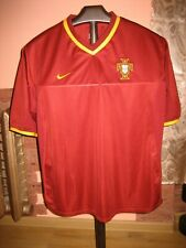 Vintage Portugal NikeFootball National Team 2000 Home Jersey/Shirt size M