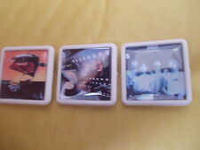 GLAM ROCK AND ANOTHER 3 SWEET ALBUM BADGES FREE POSTAGE IN THE UK