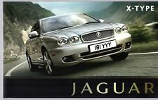 Jaguar X-Type 2008-10 UK Market Sales Brochure S SE Sport Premium Sovereign