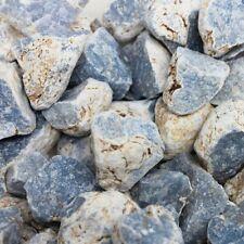 Bulk 1lb Rough Raw Blue Angelite Celestite Crystal Gemstones
