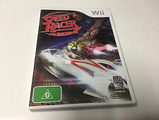 WII GAME SPEED RACER THE VIDEO GAME