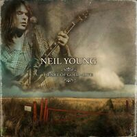 Neil Young Heart of Gold Live Limited Edition Red Vinyl 3 LP