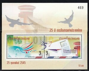 THAILAND-2002-25th ANNIVERSARY of THE COMMUNICATIONS AUTHORITY of THAILAND - S/S