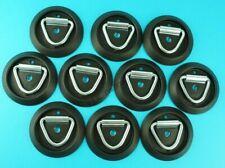 10 x Lashing Ring Tie Down & Black Base - Ifor Williams Horse Box & Trailers