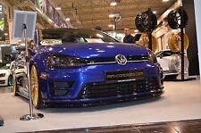 schwarze Spoilerlippe für VW Golf VII 7 R Lippe Frontspoiler Spoiler Diffusor