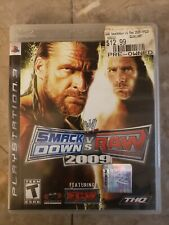 WWE SmackDown vs. Raw 2009 Featuring ECW PlayStation 3 PS3 Complete CIB