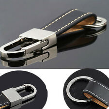 Hot Creative Men's Leather Strap Keyring Keychain Key Chain Ring Keyfob Gift