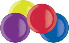 Colourworks Melamine Dinner Plates, 28 cm, lti-Colour, Set of Four
