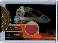 Quotable Star Trek Voyager Delta Flyer Relic Prop Card #34