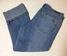 Calvin Klein Jeans Washed Denim Women Size 14 Jeans (SEE DETAILS)