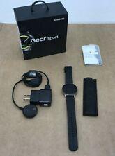 ⭐ Samsung Galaxy Gear Sport SM-R600 Bluetooth Fitness Smart Watch Black NOB