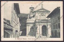 BERGAMO SAN GIOVANNI BIANCO 18 Cartolina viaggiata 1932