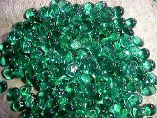 10 Lb Emerald Green Flat Glass Marbles Gems, Vase Fillers, Mosaic Tiles $21.88