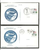 Skylab Launch SL-1 And SL-2  May 14, May 25 1973 , Cape Canaveral . Post Card.