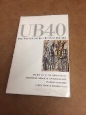 UB40 THE WAY YOU DO THE THINGS YOU DO FACTORY SEALED CASSETTE SINGLE 10