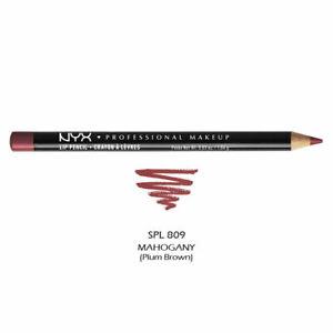 NYX Professional Slim Lip Liner Pencil 809 Mahogany