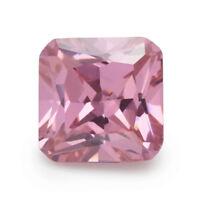 Pink Zircon 15x15mm 25.86Ct Cushion Cut AAAAA VVS Loose Gemstone
