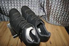 Giro SHOES 49 BLACK Triathlon Bike Shoes Size 13 1/2  EUR 49