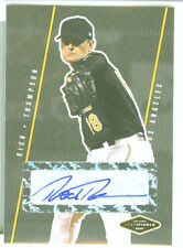 Rich Thompson  Angels  2007 Justifiable Autograph
