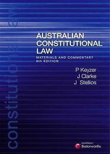 Australian Constitutional Law: Materials and Commentary by James Stellios, Patri