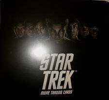 2009 STAR TREK MOVIE XI 3-RING  TRADING CARD BINDER