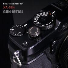 Gariz Soft Release Button Gunmetal Grey XA-SB4 for Fuji X pro 2 X100 XE2