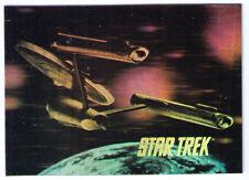 Impel Star Trek H1 H2 insert holo hologram holograph holographic card cards set