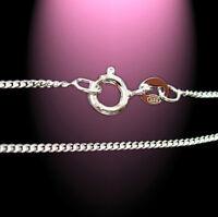 36 cm - 50 cm 925 Silber Panzerkette Kette Halskette  Kinderkette Herrenkette