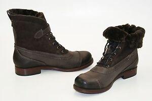 Timberland Boot Company Lucielle Boots Echte Lammfell Damen Winter Stiefeletten