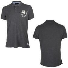 Patternless JACK & JONES Cotton T-Shirts for Men