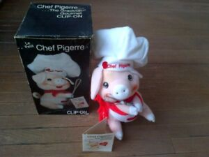 1982 Pigerre A French Chef Pig with Whisk ! in Original Box