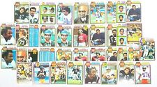 1979 Topps Football 38 Card Lot G-NM Stabler, Dorsett, Upshaw, Page, Manning