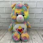"""Care Bears TRUE HEART Plush Soft Toy 14"""" 2016 Those Characters From Cleveland"""