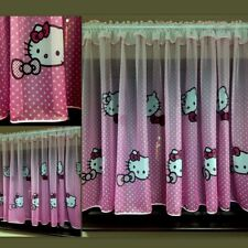 Hello Kitty Beautiful Ready Made Children  Voile Net Curtains