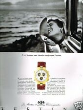 Publicité advertising 1991 La Montre Festina Chronographe