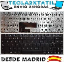 TECLADO PARA PORTATIL MSI U200 2210 X320 X340 X400 X430 CR400 EN ESPAÑOL NUEVO