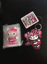 Sanrio Hello Kitty Japanimation USB Flash 4 GB And Keychain Kawaii LOT NEW